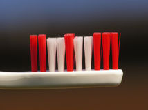 White toothbrush Royalty Free Stock Photography