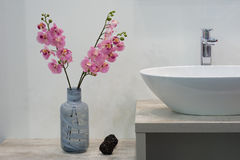 White Top Washbasin Royalty Free Stock Photography