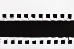 White Torn Paper frame Stock Images
