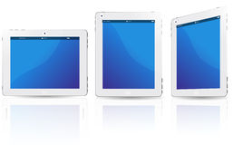 White touchpad Royalty Free Stock Images