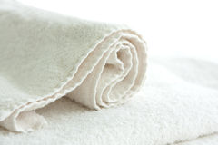 White towel Royalty Free Stock Photos