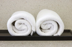 White towel Stock Photography