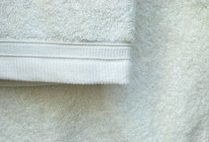 White towel Royalty Free Stock Image