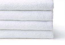 White towel Royalty Free Stock Photo