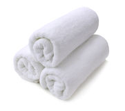 White towel Royalty Free Stock Images