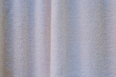 White towel textured for drying oneself or wiping things dry Royalty Free Stock Photography