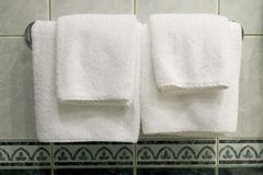 white towels Stock Photography