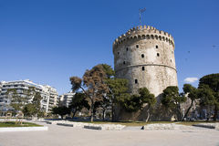 White tower Stock Images