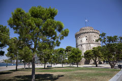 The white tower Stock Image