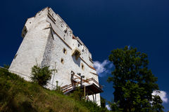 White Tower. Medieval defence and watch tower in the historic mountain city of Brasov in Transylvania Romania Royalty Free Stock Image