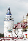 White tower. Kremlin in Izmailovo district. Moscow Royalty Free Stock Photo