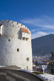 White Tower. The white tower of Brasov royalty free stock photography