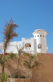 White tower. Of arabian hotel Stock Images