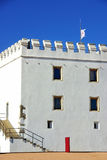 White tower at alentejo region Stock Photography