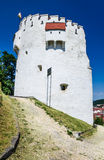 White Tower of Brasov fortifications, Transylvania, Romania Royalty Free Stock Photos