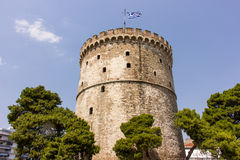 White tower Royalty Free Stock Image