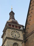 White Tower. In Hradec Kralove, Czech Republic, near the Roman Catholic church stock photo