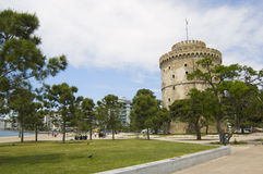 Free White Tower In Thessaloniki Royalty Free Stock Photography - 14802247
