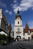 White tower in Krems Stock Photo