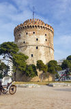White Tower landmark of Thessaloniki, Greece Royalty Free Stock Photography