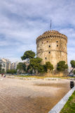 White Tower (Lefkos Pyrgos), Thessaloniki, Macedonia, Greece Royalty Free Stock Photography