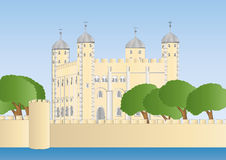 White tower of London Royalty Free Stock Images