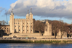 White tower of London Royalty Free Stock Photos