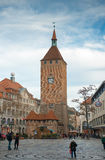The White Tower at the Ludwigsplatz Stock Image