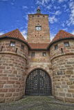 White Tower in Nuremberg, Allemagne Royalty Free Stock Photo