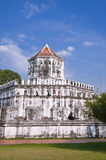 White tower ,Phra Sumen Fort Royalty Free Stock Image