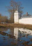 White Tower of the Pokrovsky Monastery Stock Photos