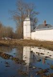 White Tower of the Pokrovsky Monastery Stock Photos