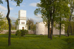 White Tower in Pushkin Stock Photos