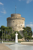 White Tower In Thessalonika Stock Photography
