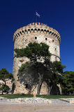 White tower in Thessaloniki Royalty Free Stock Photography