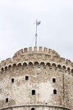 White Tower in Thessaloniki Stock Images