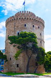 White Tower in Thessaloniki Royalty Free Stock Photos
