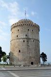White Tower  in Thessaloniki Stock Photo