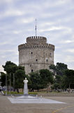 White Tower of Thessaloniki, Greece Royalty Free Stock Images