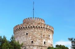 White Tower in Thessaloniki, Greece Stock Photos