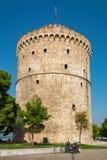 White Tower. Thessaloniki, Greece Stock Photos