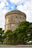 White Tower of Thessaloniki Royalty Free Stock Photography