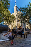 White tower of TOwer of London Royalty Free Stock Photo