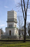 The White Tower in Tsarskoye Selo  in Aleksandrovsky park, Pushkin, Royalty Free Stock Images