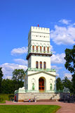White Tower in Tsarskoye Selo (Leningrad region) Royalty Free Stock Photography