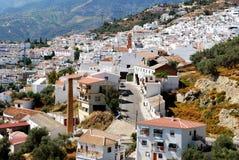 White town, Competa. Royalty Free Stock Photo