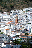 White town, Competa. Royalty Free Stock Images