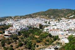 White town, Competa. Stock Images