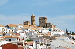 White town, Espejo. Royalty Free Stock Photo
