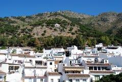 White town, Mijas. Royalty Free Stock Photos